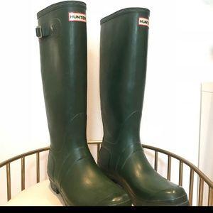 Hunter green Hunter Boots US 9/10 EUC